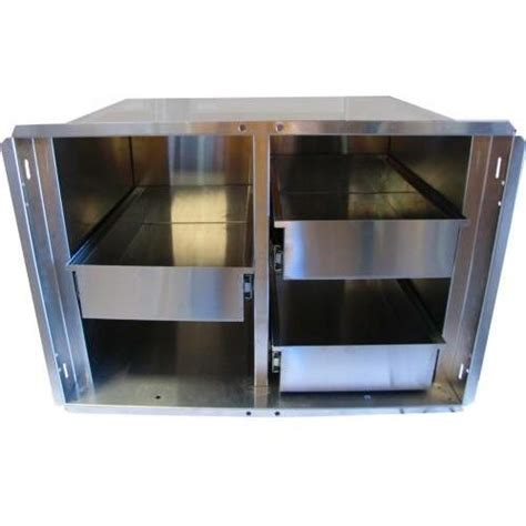 Pantry Inserts by Pcm 30 Quot Stainless Steel Bbq Island Pantry Inserts