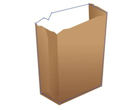 Steps In Paper Bag - how to create a recycling paper bag icon