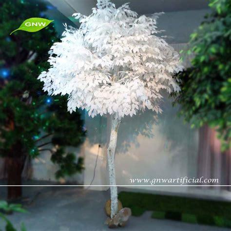 artificial white ficus tree plants decorative indoor tree