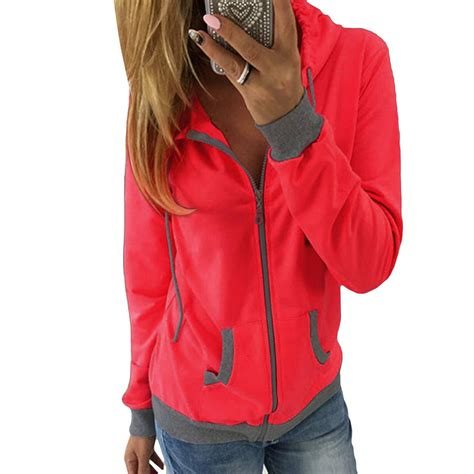 Hoodie Jumper Dan Zipper s winter hoodie sweatshirt jumper hooded pullover top zipper hooded sleeved