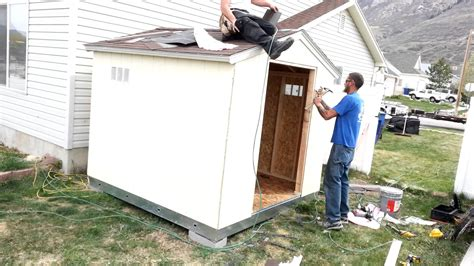 Building A R For Shed by Building The Tuff Shed