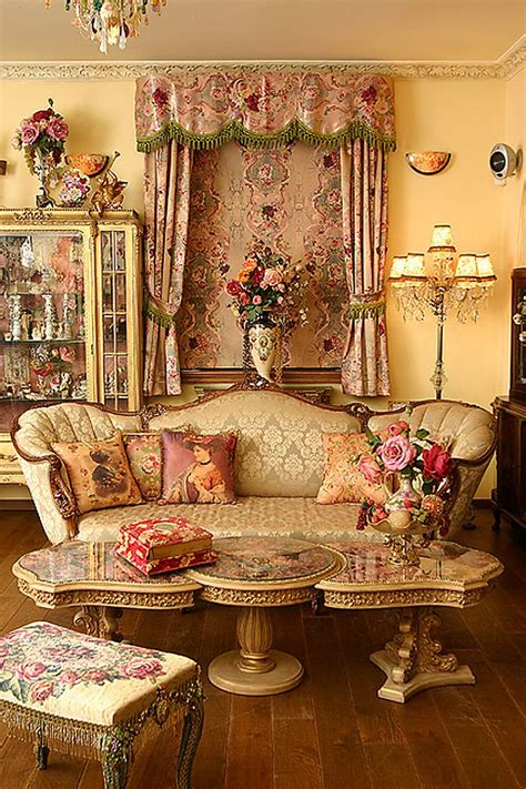 Victorian Living Room Decor | feast for the senses 25 vivacious victorian living rooms