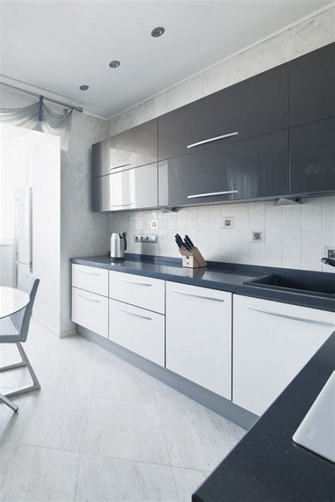 Contemporary White Kitchen Cabinets by Modern White Kitchen Cabinets Tjihome