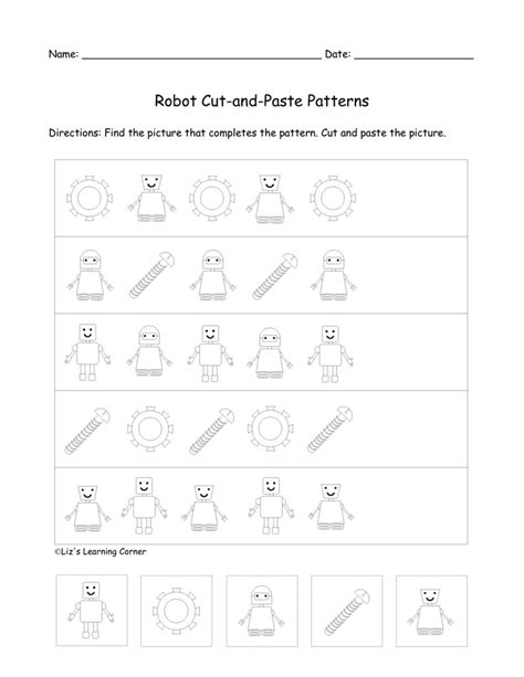 patterns worksheet elementary 50 best images about elementary math patterns on