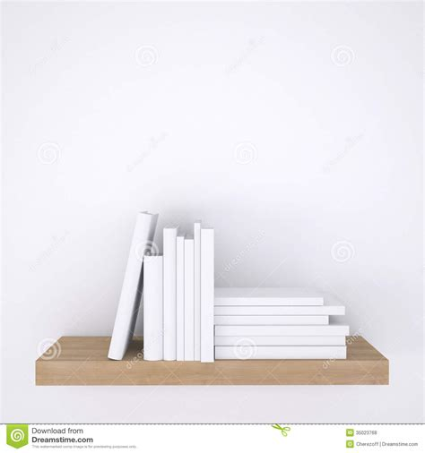 with a view books wooden shelf with books on white wall background royalty