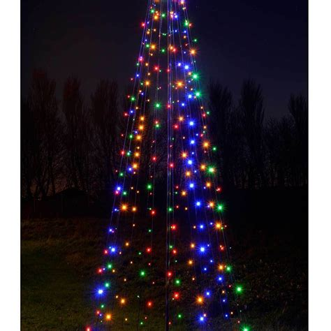 Pre Lit Led Pop Up Christmas Tree Multi Colour Multi Pop Up Tree With Lights