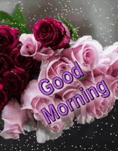 good morning rose gif goodmorning rose flowers