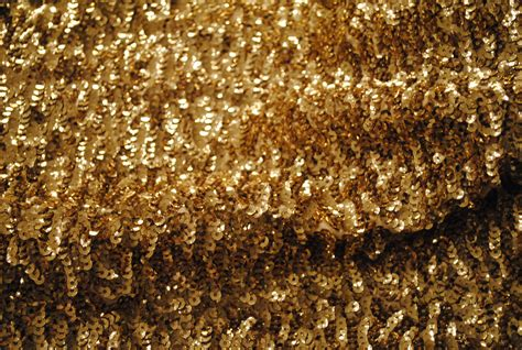 Ck 4492 Light Gold light gold sequin fabric for skirt pencil dress