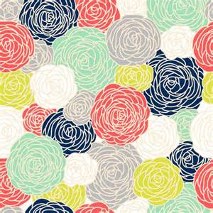 Modern Floral Wallpaper by Designer Removable Wallpaper Modern Floral Print In