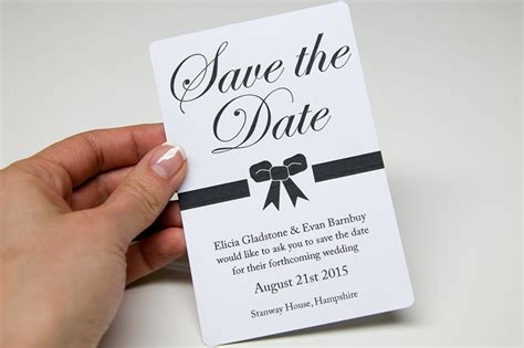 save the date cards templates uk design and print your own wedding stationery