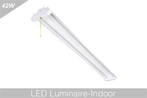 linkable led shop lights 4ft led shop light bl lksp4f 42w bravoled
