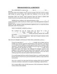 furniture rental contract template hdb room rental agreement in word and pdf formats