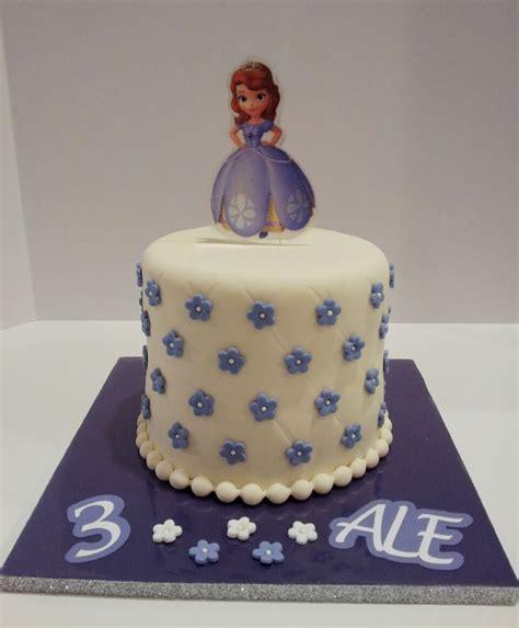 Sofia Princess Birthday Cake   CakeCentral.com
