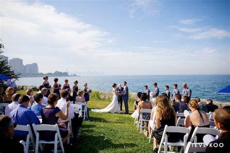 Promontory Point Chicago Wedding : Laura and Joe
