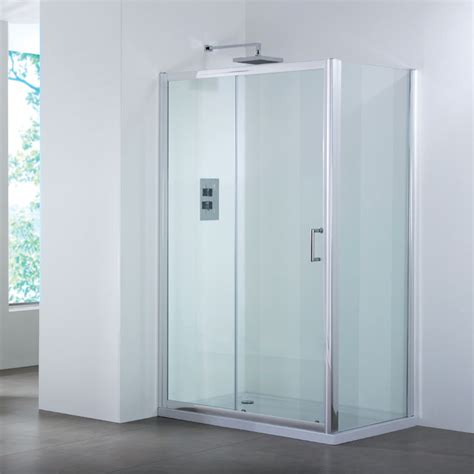 Shower Door 1200 Bathroom City 1200 Sliding Shower Door Side Panel Shower Enclosure Buy At Bathroom City
