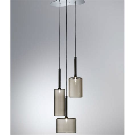 axo light spillray spspill3grcr12v grey pendant ceiling