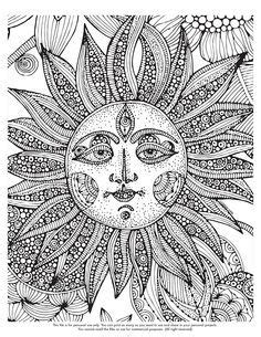 abstract sun coloring page abstract sun coloring pages for adults stencils colors
