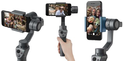 Dji Osmo Mobile ces 2018 dji announces osmo mobile 2 with simpler controls and improved battery