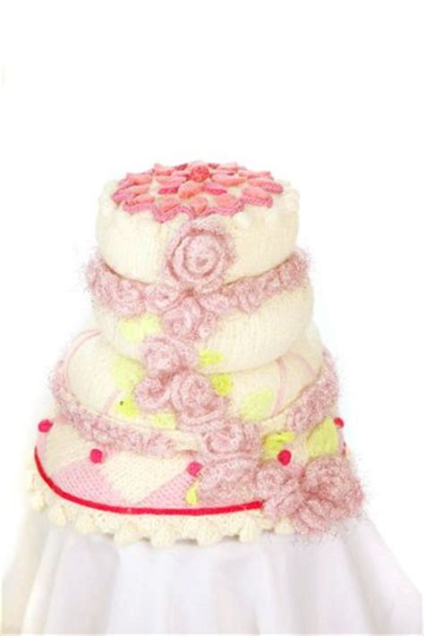 Wedding Cake Patterns by Wedding Knit And Crochet Wedding Cakes Free Patterns