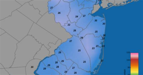 Records In Nj Record Cold In Nj Winter Forecast