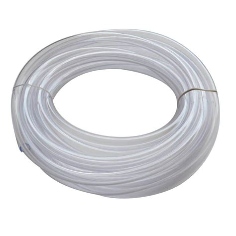 everbilt 1 2 in o d x 3 8 in i d x 20 ft pvc clear