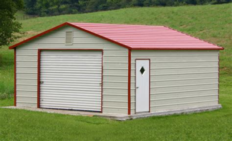 Prefab Metal Sheds by Prefab Steel Garages Metal Buildings And Garage Buildings
