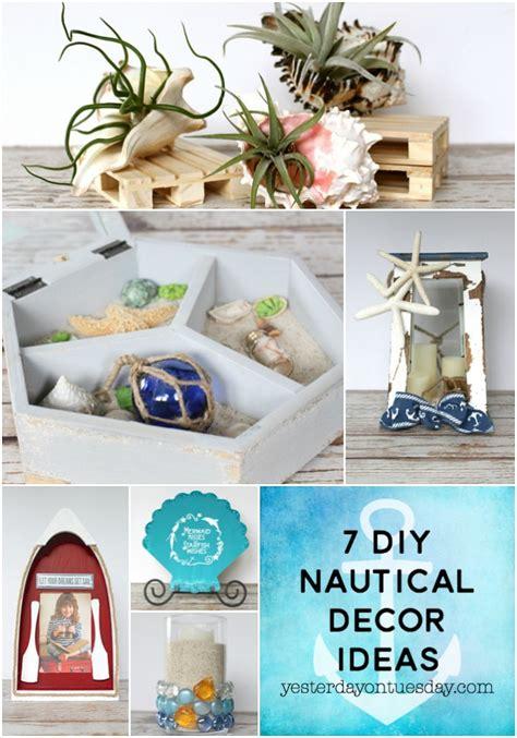 diy nautical home decor diy nautical decor ideas