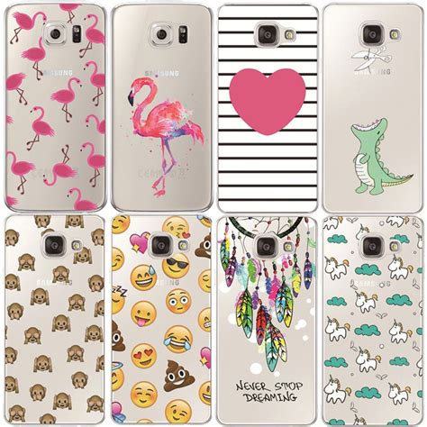 Samsung A3 2016 Softcase Custom Casing Flower F 91 flamingo f 252 r samsung galaxy s3 s4 s5 s6 s7 edge s8