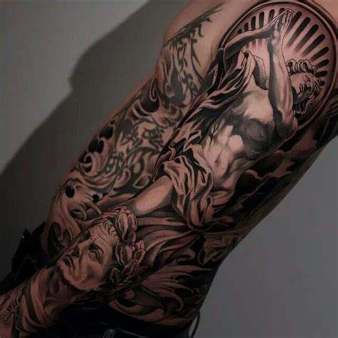 best religious sleeve tattoos amazing 54 best images about ideas on japanese