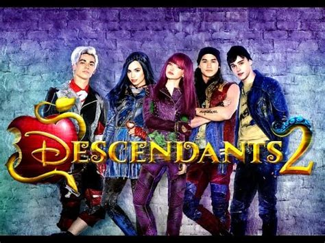 los descendientes 2 8416913722 los descendientes 2 trailer espa 241 ol latino youtube