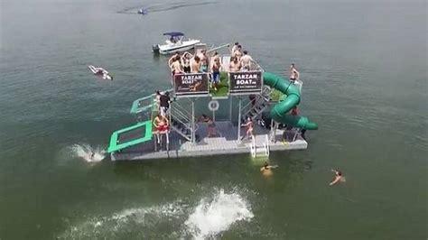 tarzan boat reviews tarzan boat water slide gadgetking