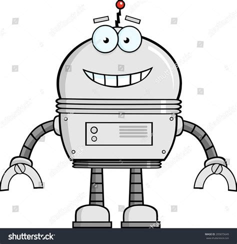 smiling robot gallery
