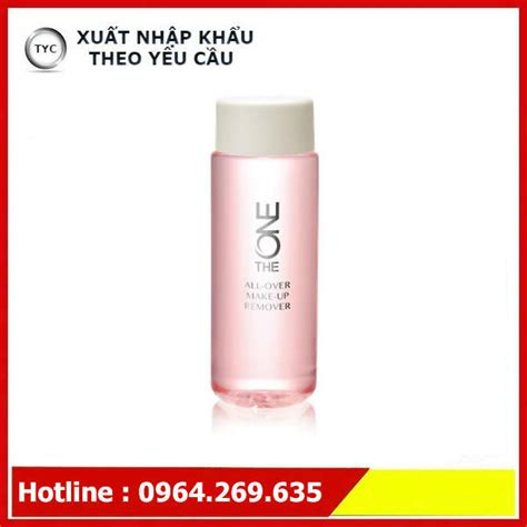 Promo The One All Make Up Remover n豌盻嫩 t蘯ゥy trang the one all make up remover