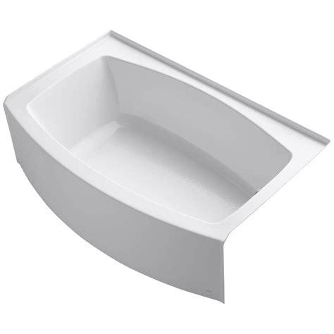 kohler expanse  ft acrylic  hand drain curved