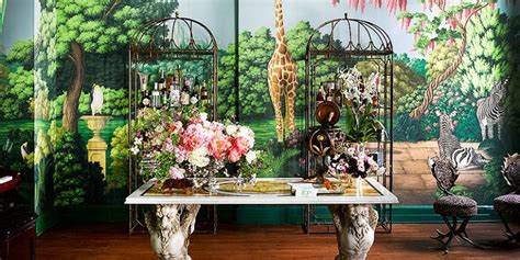 kips bay showhouse 2017 interior design project by ken fulk features exotic patterns