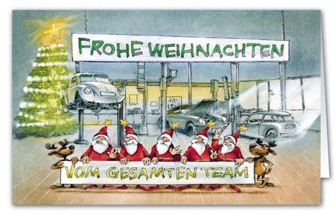 Werkstatt Lustig by Originelle Weihnachtskarte Als Branchenkarte F 252 R Kfz
