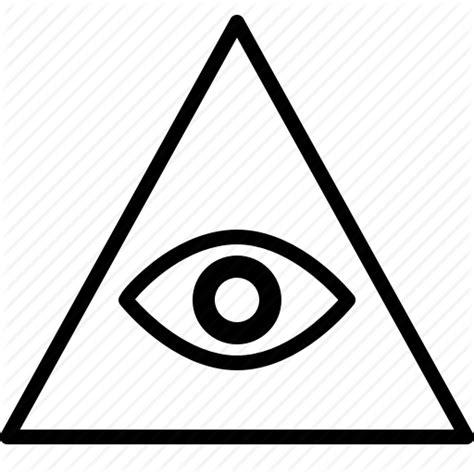 illuminati symbol eye illuminati symbols eye drawings sketch coloring page
