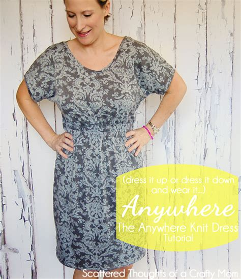 pattern for simple knit dress go anywhere knit dress tutorial scattered thoughts of a