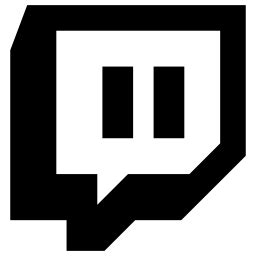 twitch icon  glyph style   svg png eps