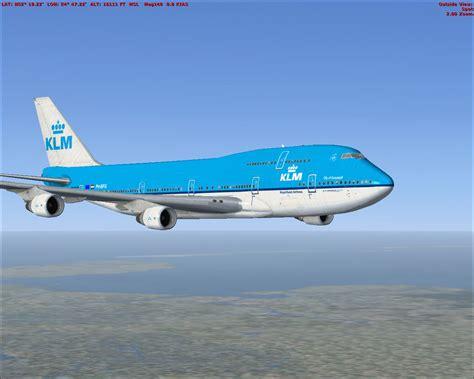 klm stoelindeling 747 400 klm boeing 747 400 repaint for fsx