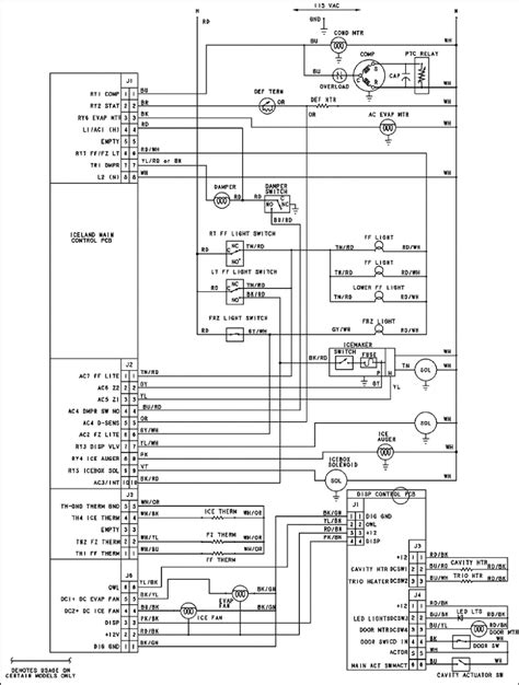 wiring diagram for a dometic refrigerator the in webtor me