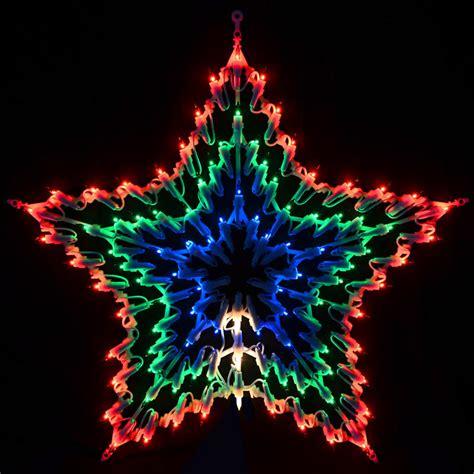 christmas light star christmas decorating
