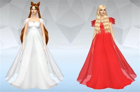 Dress Princes 2 my sims 4 selene princess jupiter and more
