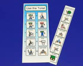 potty book and potty schedules autism pecs