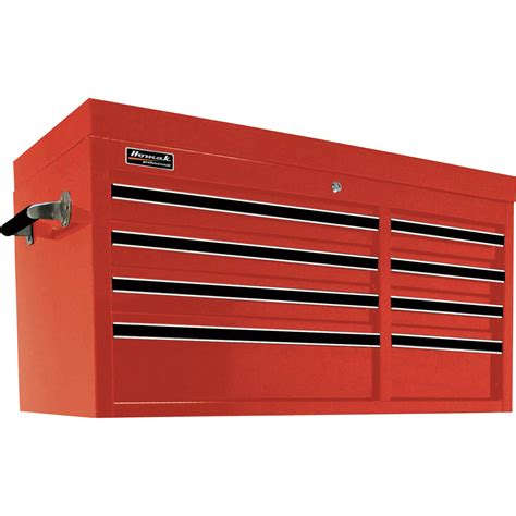 homak pro series 41in 8 drawer top tool chest 41in w x