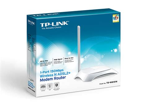 Modem Speedy Td W8151n 150mbps wireless n adsl2 modem router td w8151n welcome