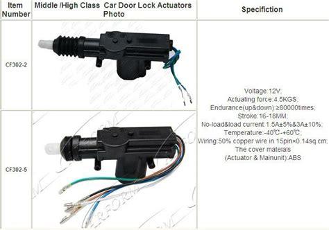 What Is Power Door Locks In Car by High Quality 12v Car Power Door Lock Actuator Buy Power