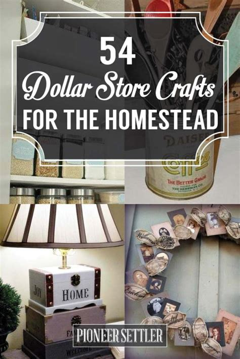 dollar store craft projects 54 dollar store crafts for the homestead total survival