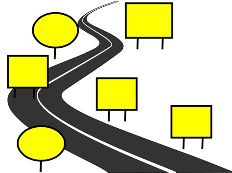 road map clipart outline bbcpersian7 collections