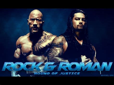 rock and roman reigns songs in quot wwe the rock and roman reigns cousins quot youtube